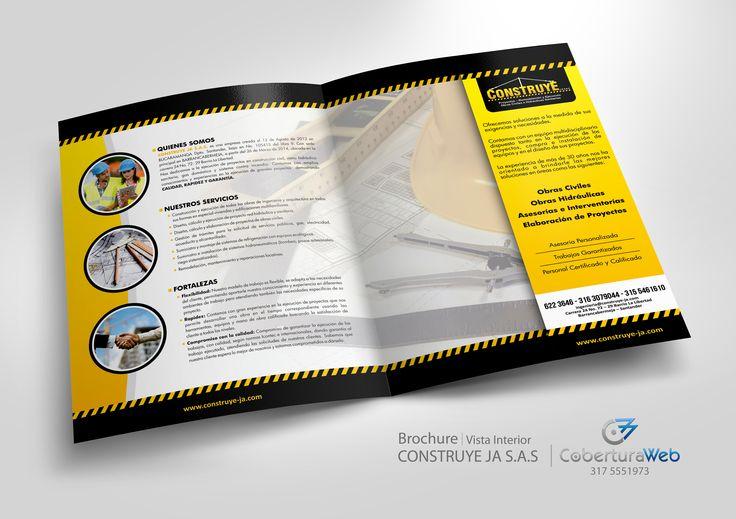 Compañía: Construye JA S.A.S. País: Colombia  Diseño: Brochure - Vista Interior