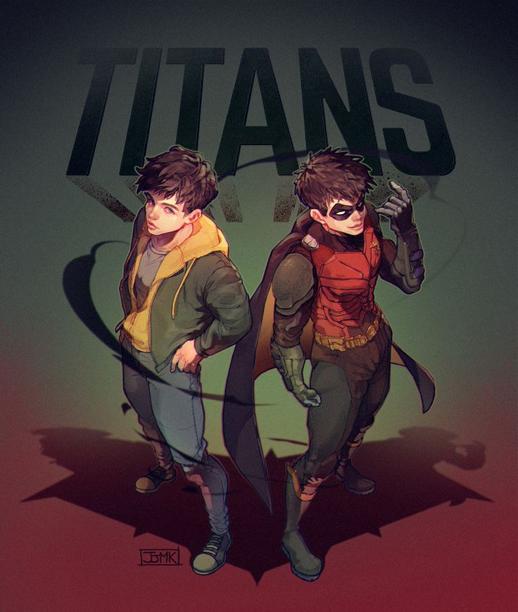 TITANS – Jason Todd Fankunst