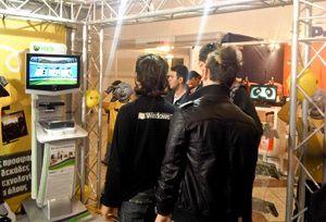 Παρουσιάσαμε το Kinect, στην έκθεση Φοίτηση 2010 και παίξαμε χωρίς τηλεχειριστήριο!