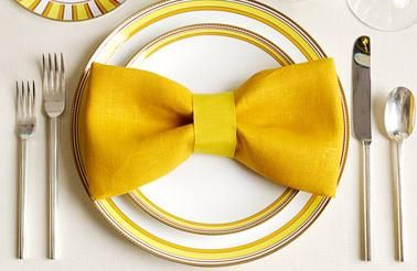 guardanapo gravata