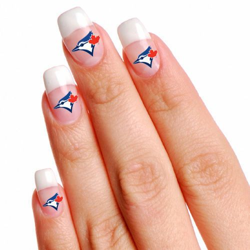 Toronto Blue Jays 4-pack Fingernail Tattoos from $2.99