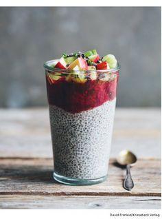 Chia-Erdbeer-Pudding