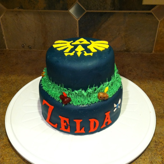 Zelda themed birthday cake for my brother :) | Cakes I've ...