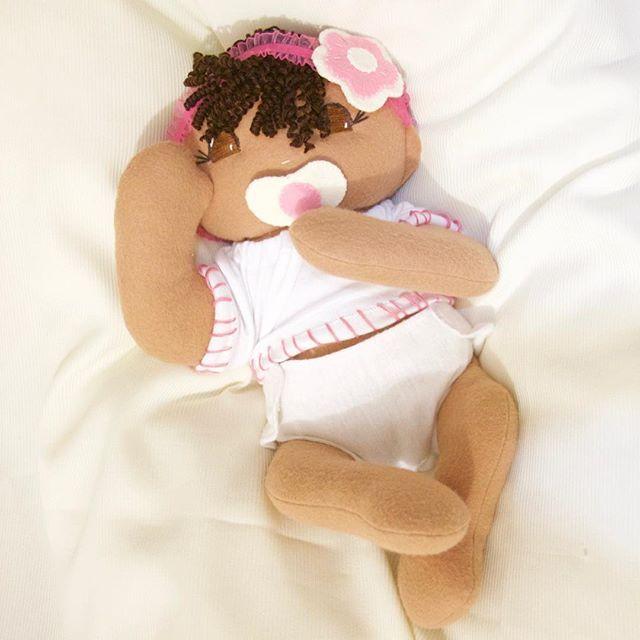 Custom made baby on her way home