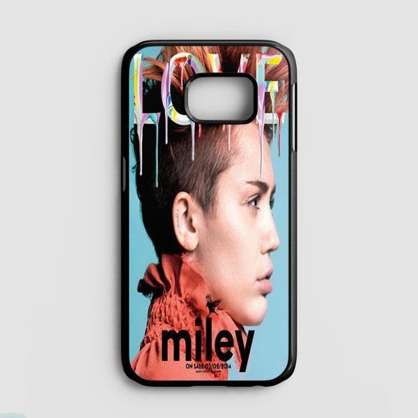 Miley Cyrus Ice Cream Lick Samsung Galaxy S7 Edge Case   Casefruits