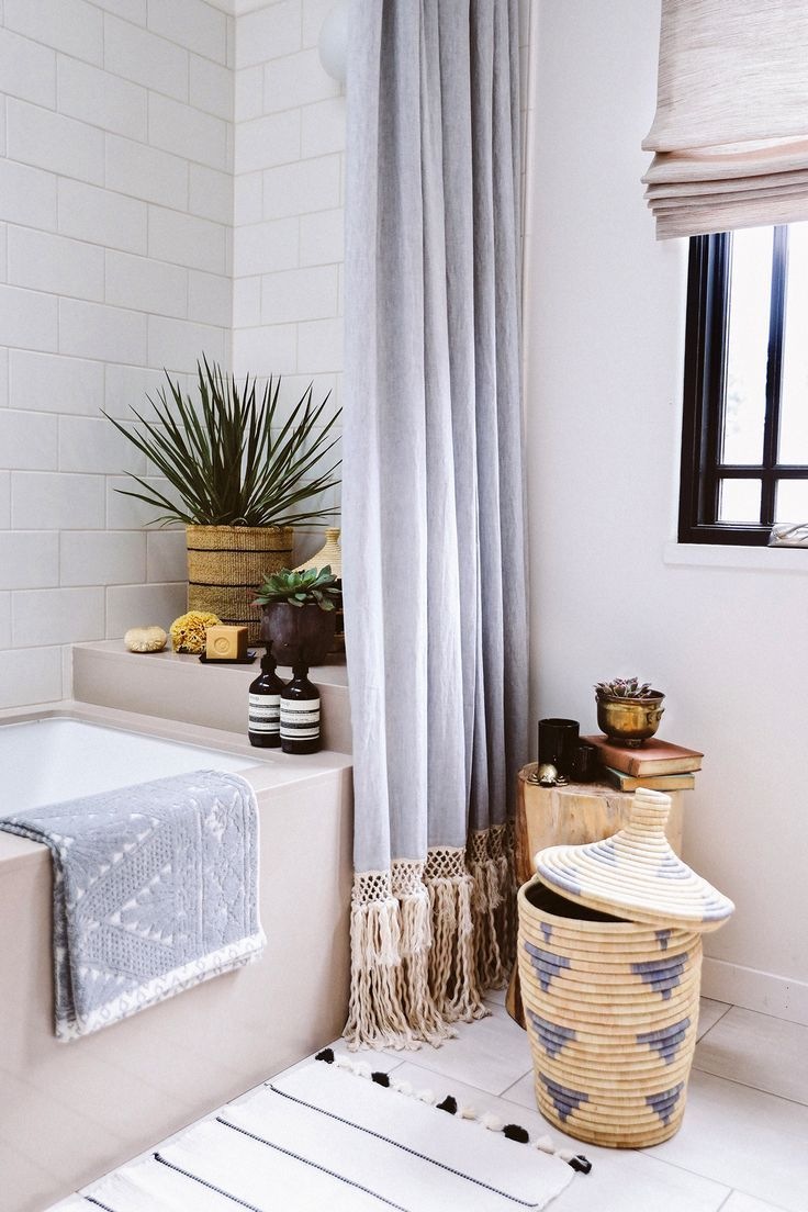 One Component That Can Make Your Scandinavian Bathroom Look A Lot More Eye Catching Is The Shower Cur Long Shower Curtains Home Decor Extra Long Shower Curtain