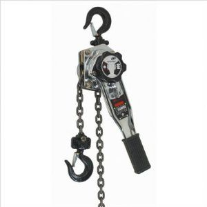 Ingersoll Rand SLB150-10 Silver Series 3/4-Ton 10-Feet Lift Lever Chain Hoist, Silver by Ingersoll-Rand. Save 26 Off!. $332.99. From the Manufacturer                Ingersoll Rand SLB Silver Series lever hoists offer the ultimate in performance, durability, and safety for a variety of demanding applications. The high-strength, all-stamped steel construction offers decreased weight and better impact resistance. The automatic inertia brake engages if load is applied in free-chain mode, he...