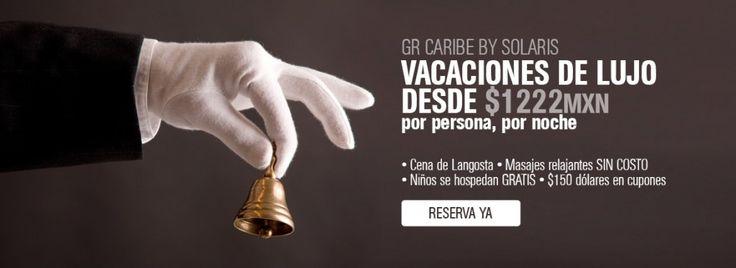 Promoción GR Caribe Cancun Todo Incluido, vacaciones de lujo