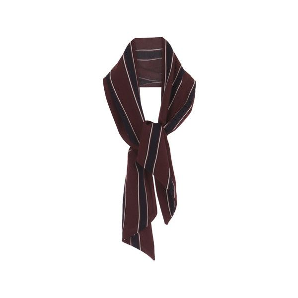 Basic Striped Scarf (1.005 RUB) ❤ liked on Polyvore featuring accessories, scarves, striped scarves and striped shawl