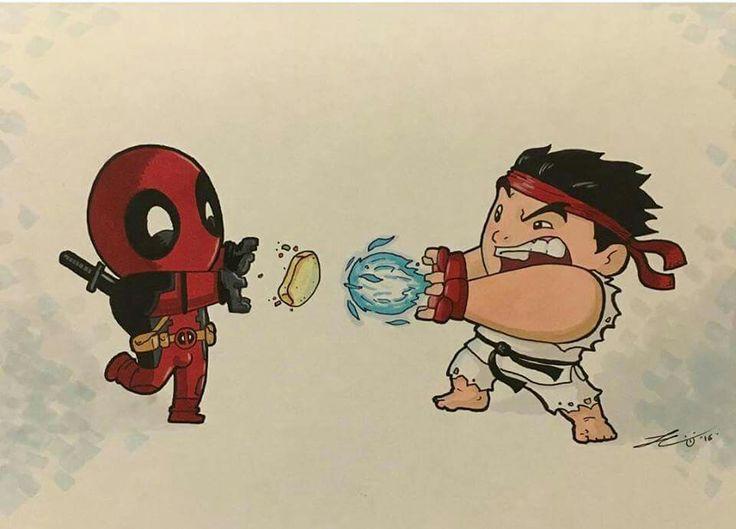 Deadpool vs Ryu