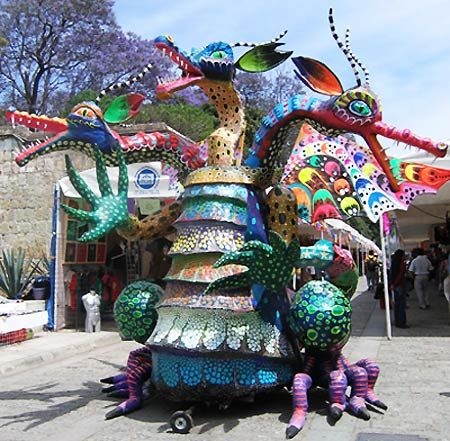 Alebrije this is the oaxaca today page for oaxacan arts for Oaxaca mexico arts and crafts