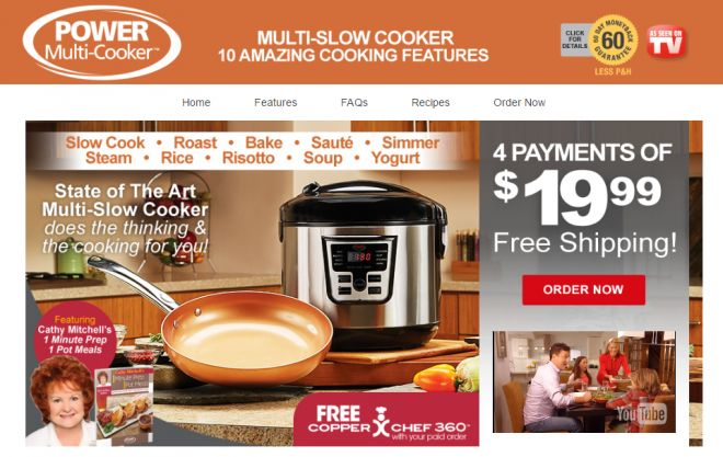 Power Multi-Cooker is a multi-function slow cooker. Read our Power Multi-Cooker review plus additional product information.