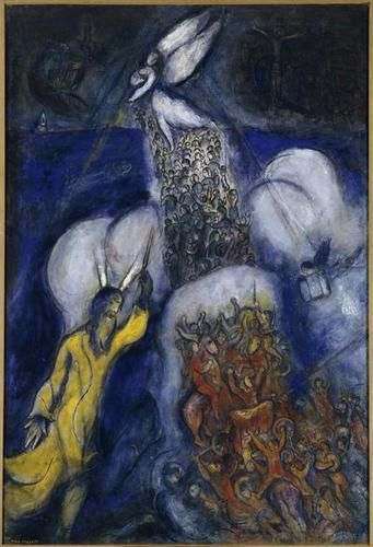 Crossing of the Red Sea (1955)- Chagall
