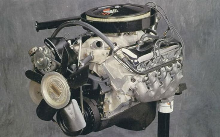 1969 Chevrolet 427 all aluminum ZL1 engine - GM stock photo