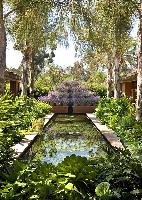 Relais & Chateaux - Blending luxury with the authentic spirit of relaxed Southern California living, Rancho Valencia welcomes its guests with passion and grace. Rancho Valencia Resort and Spa - USA  #relaischateaux #america #gardening #pinspiration