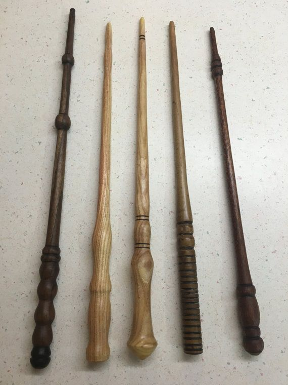 Harry Potter Wands Wizard Wands Magic Wands Hand by TheLatheJunkie
