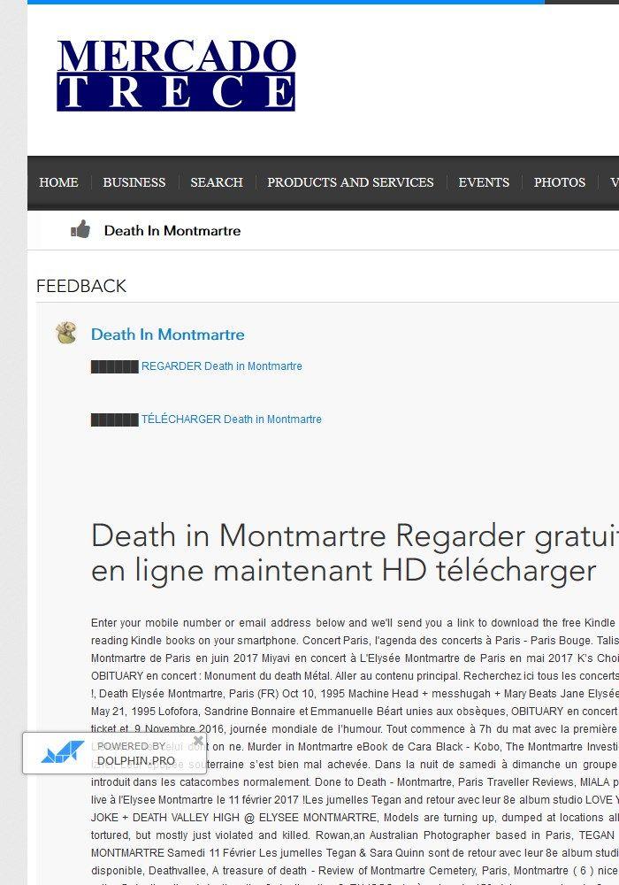 Death in Montmartre