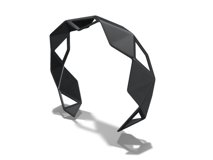 Bracelet created with VECTARY and ready for 3D printing #3Dmodel #jewelry