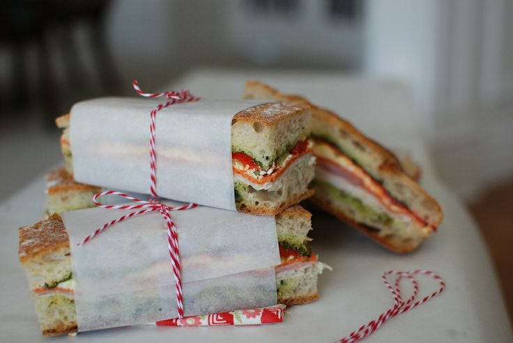 Brick Compressed Sandwich by simplysogood: Perfect for a picnic. #Sandwich #Picnic #simplysogood
