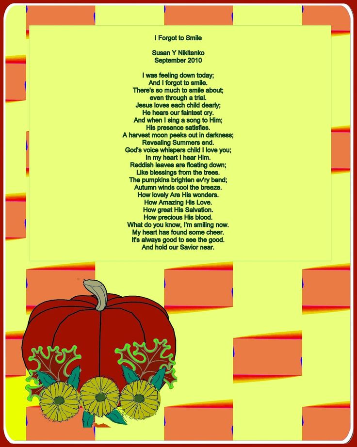 Christian Images In My Treasure Box: Harvest Poem Posters - updated September 21st