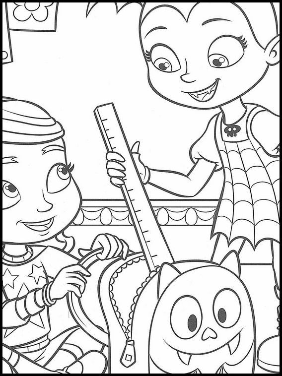 Vampirina Printables 7 Coloring Books Coloring Pages Printable Coloring Pages