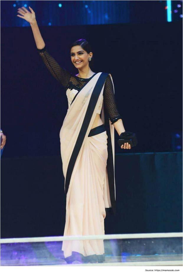Saree Blouse Patterns-Sonam-Kapoor