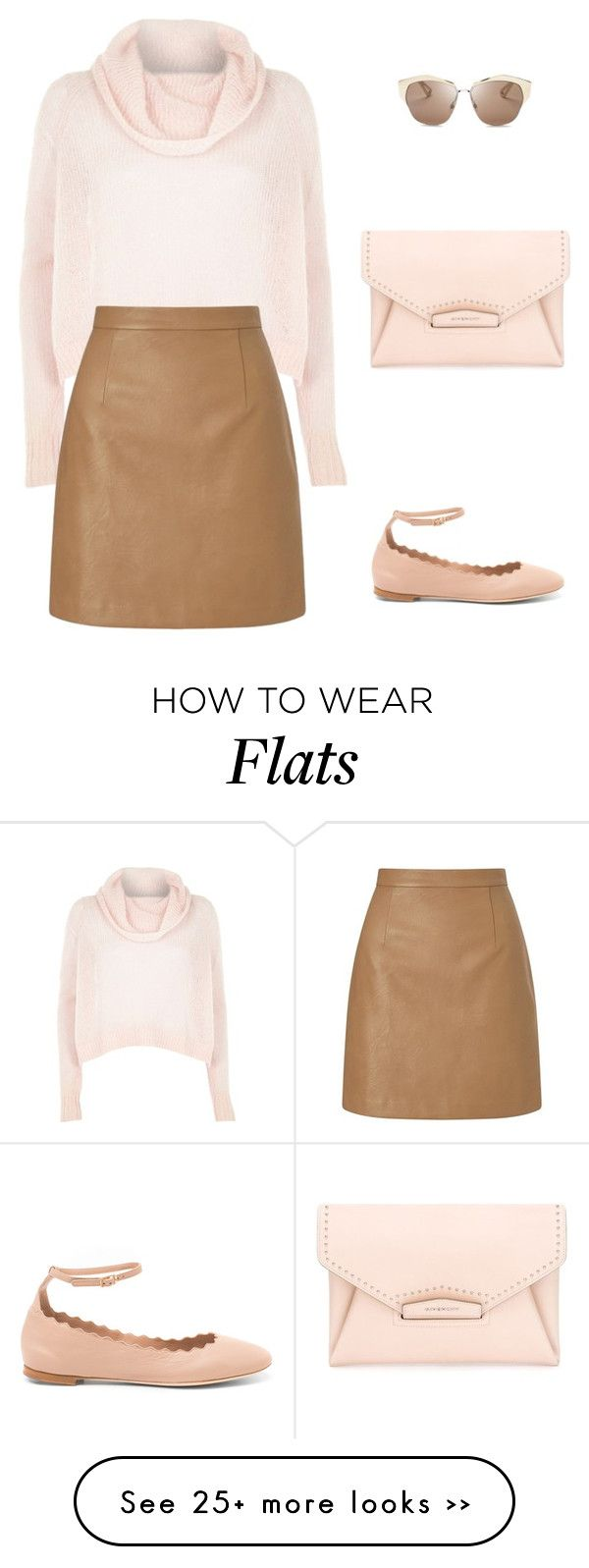 """""""Cotton candy pastel"""" by marta-isabella on Polyvore featuring River Island, Lipsy, Chloé, Givenchy and Christian Dior"""