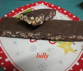 Ricetta torrone cioccolato e nocciole (Natale) bimby