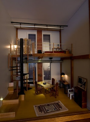 103 best images about roomboxes on pinterest miniature - Miniature room boxes interior design ...