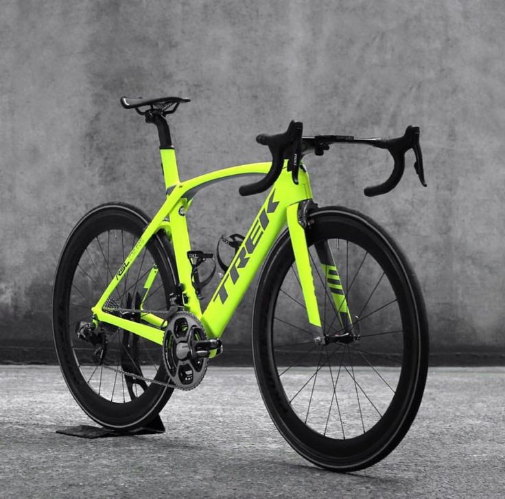 Trek Madone 9  Fluro yellow Credit: Clarence St Cyclery