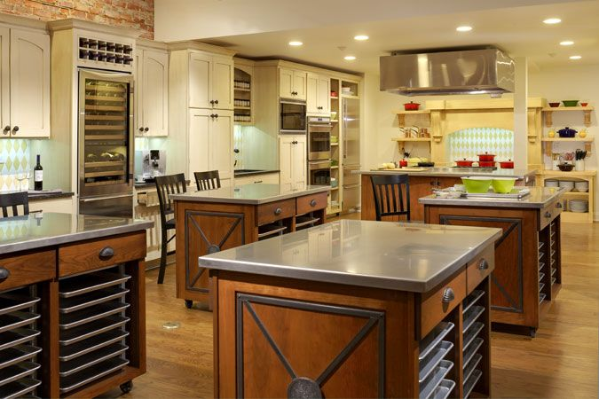 21 best industrial kitchens images on pinterest for Kitchen design classes