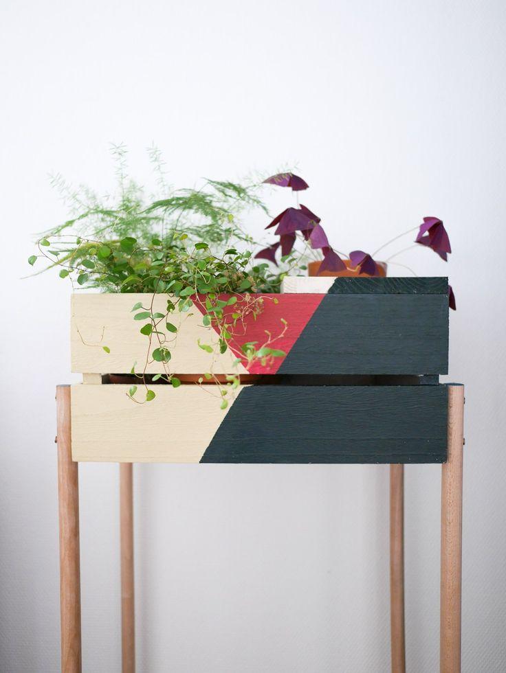 DIY une jardinière graphique - Lili in wonderland