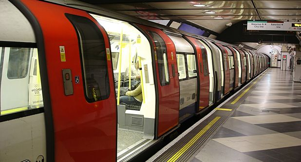 London Underground as seen by Vodafone