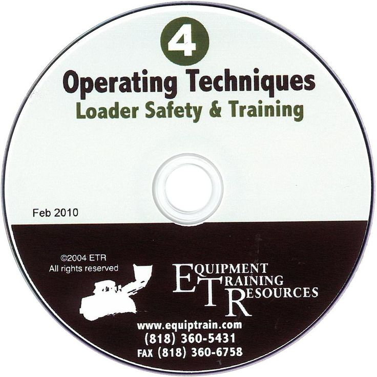 Loader Safety & Training Series (4 DVD set) (Item 4095)