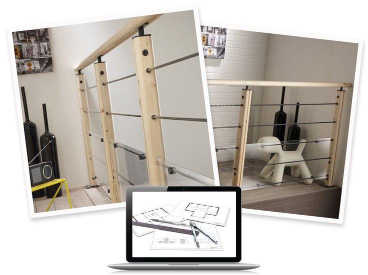 configurer mon garde corps int rieur graphit leroy. Black Bedroom Furniture Sets. Home Design Ideas