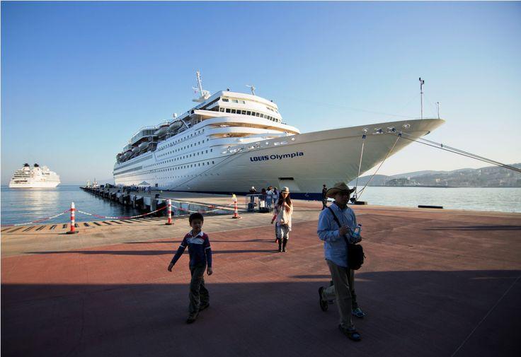 Louis Cruises arriving at #Kusadasi, #Turkey! #cruising #louiscruises #travel
