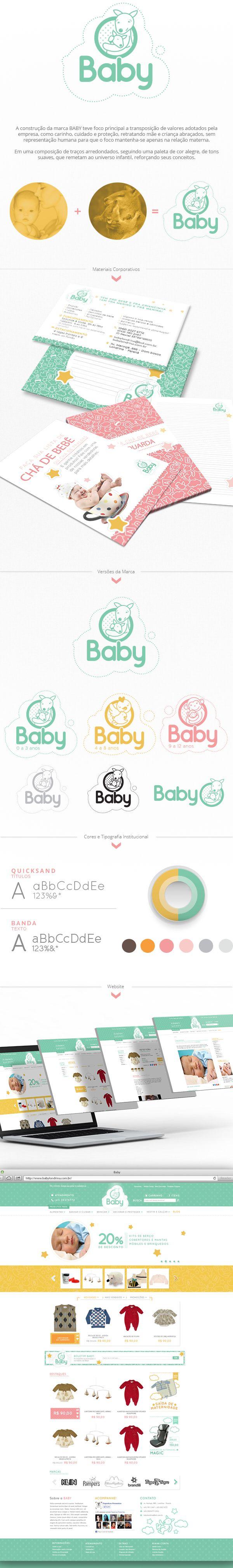 Baby on Behance