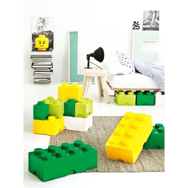LEGO Bright Red Storage Brick 4