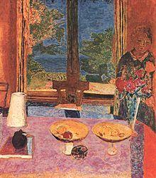 Pierre Bonnard - Sala da pranzo in campagna, 1913