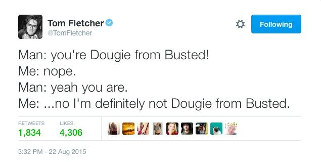Dougie from Busted