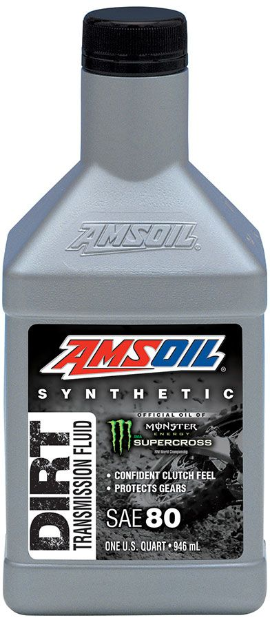 AMSOIL Synthetic Dirt Bike Transmission Fluid provides consistent clutch feel, delivering riders confidence their clutch will respond the way they want. It also guards against gear and clutch wear. Find it here: http://shop.syntheticoilandfilter.com/transmission-fluid/dirt-bike-transmission-fluid/synthetic-dirt-bike-transmission-fluid/