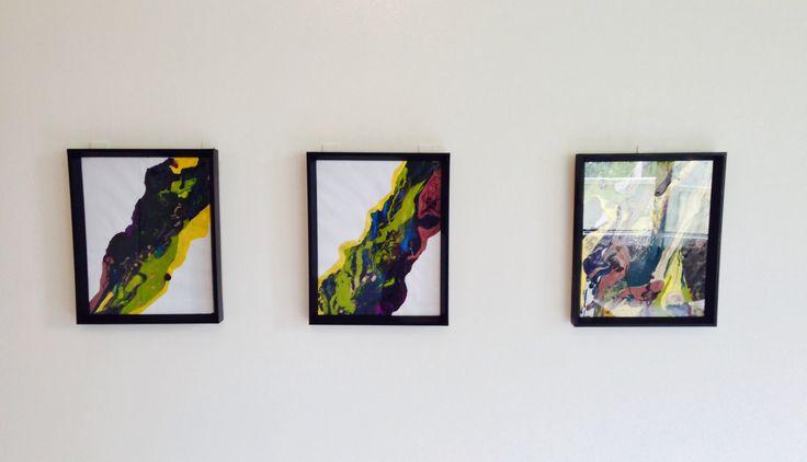 'Brooklyn' three peice installation