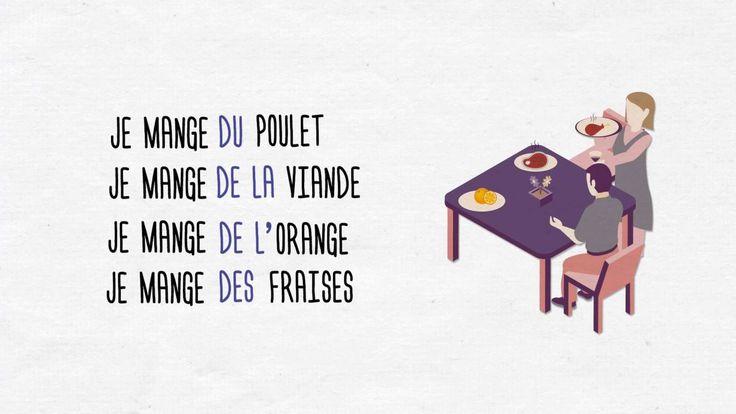 Voici une petite explication pratique et facile à comprendre sur les articles partitifs en français. www.onparle.net Français à votre rythme :) https://www.youtube.com/watch?v=CkpMTO-DUgw