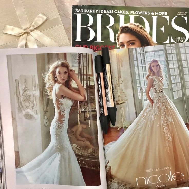 Nicole gives you promises with her floral dresses! Thanks to Brides! #NicolePressReview