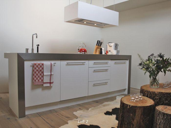 Praktische kleine keuken inspiratie inrichten my loft appartementen pinterest - Keuken klein ontwerp ruimte ...