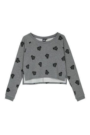 "Grey ""Star Wars"" Sweatshirt"