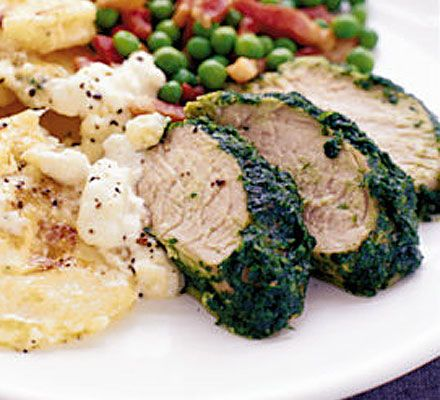 What could be better than the sweetness of pork fillet on a warm evening, with a glass of decent wine?
