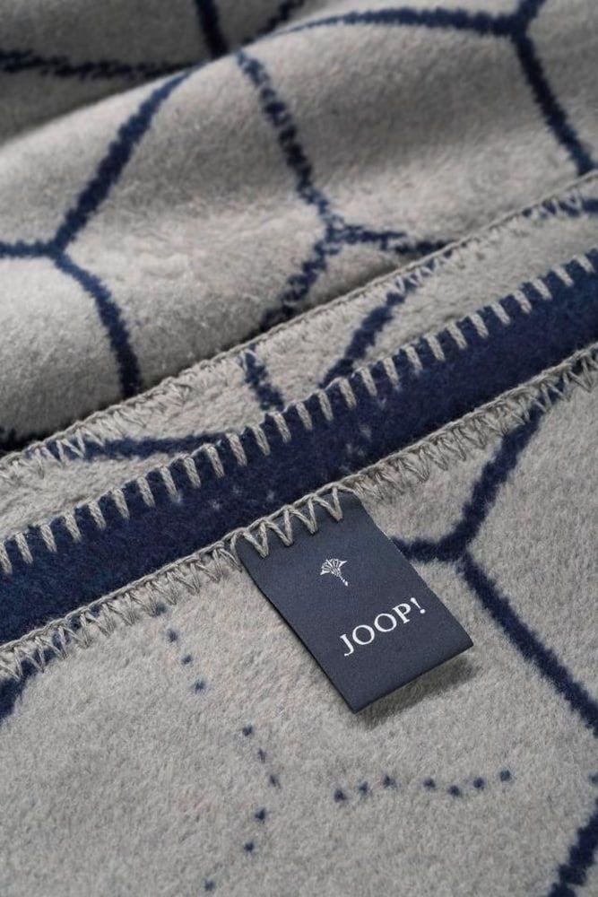 Joop Wohndecke Vision Damen Blau Grau Grosse One Size In 2020 Wohndecke Blau Grau Und Deckchen