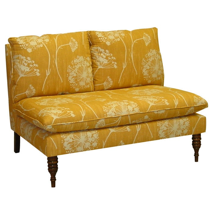 Armless Settee Bench Part - 45: Victoria Settee