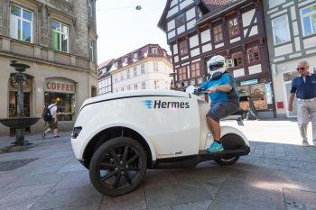 Hermes testet Elektromobil Tripl in Göttingen - http://www.logistik-express.com/hermes-testet-elektromobil-tripl-in-goettingen/